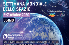 Settimana dello Spazio 2020 – gli eventi online del Comune di Osimo
