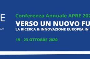 """""""VERSO UN NUOVO FUTURO"""" Conferenza APRE 2020, 19 – 23 ottobre on line"""