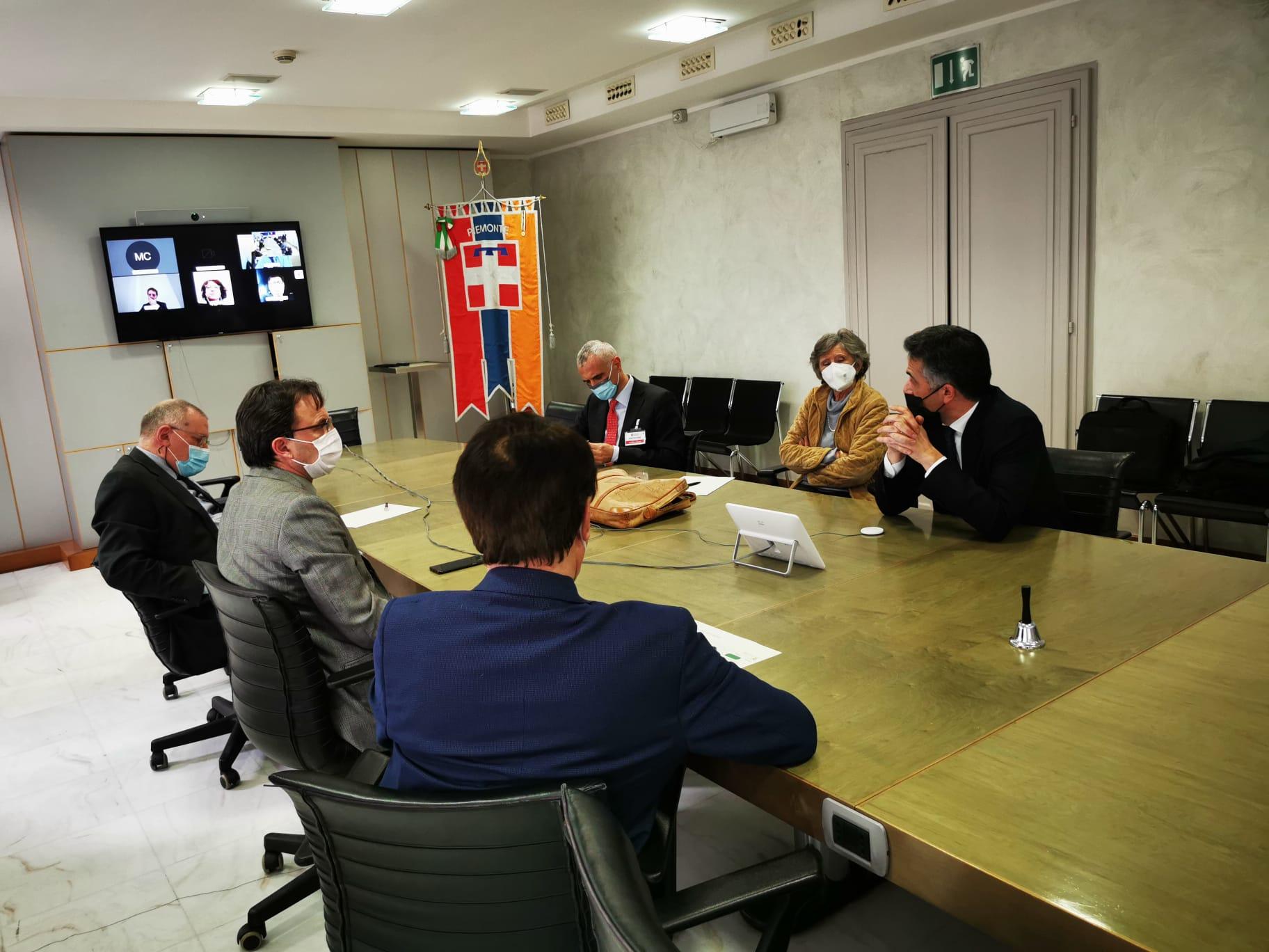 L'europarlamentare Salini e l'Assessore Tronzano hanno incontrato aziende e vertici del nostro Distretto Aerospaziale Piemonte