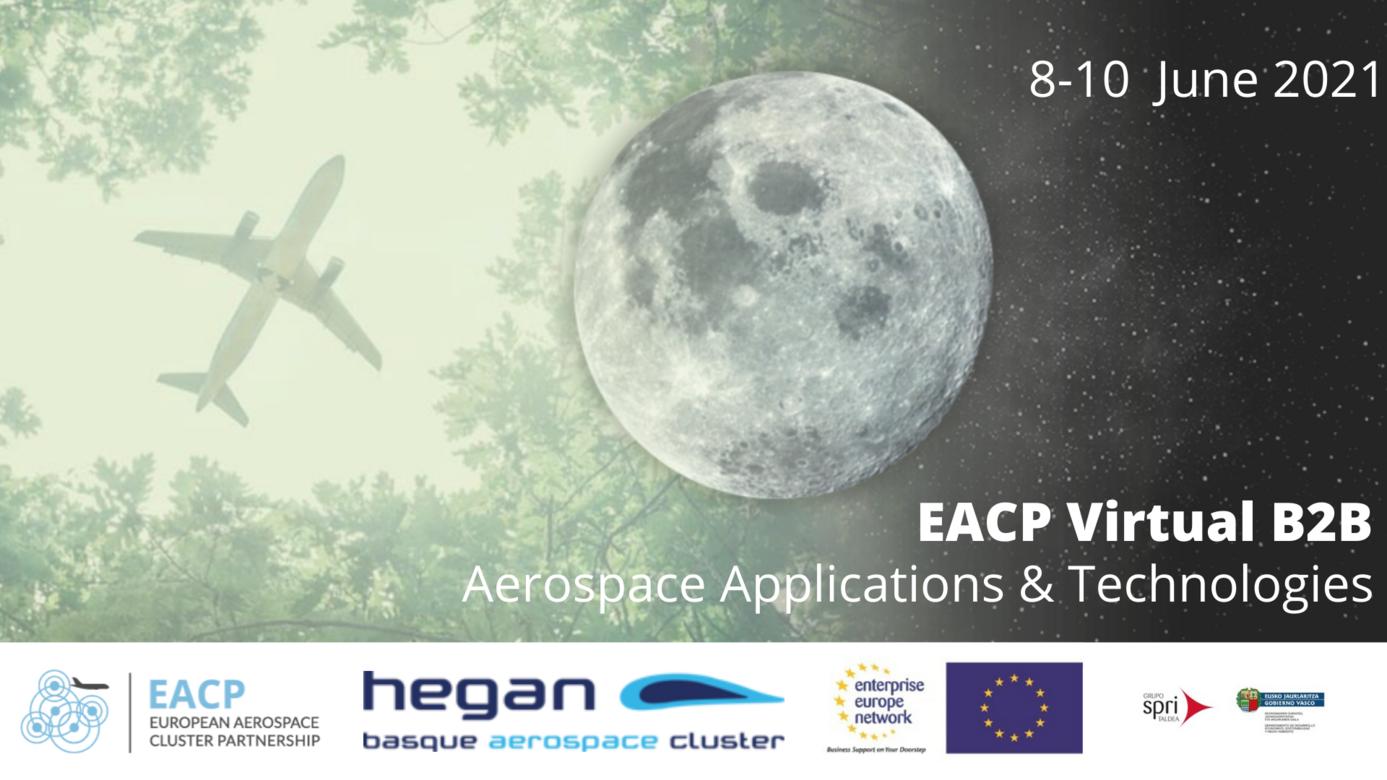 8-10 giugno 2021 EACP Virtual B2B – Aerospace Applications & Technologies