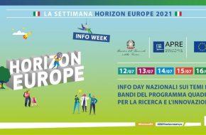"12-16 LUGLIO 2021: LA SETTIMANA ITALIANA ""HORIZON EUROPE 2021"""